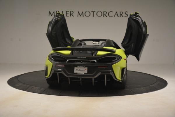 New 2020 McLaren 600LT SPIDER Convertible for sale $281,570 at Alfa Romeo of Westport in Westport CT 06880 22