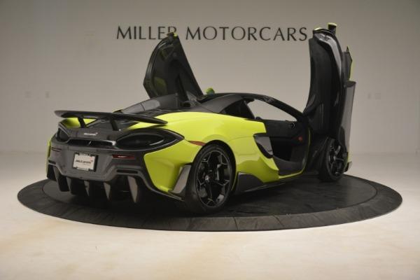 New 2020 McLaren 600LT SPIDER Convertible for sale $281,570 at Alfa Romeo of Westport in Westport CT 06880 23