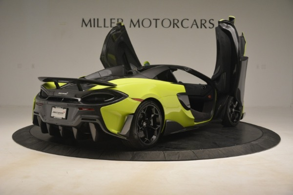 New 2020 McLaren 600LT Spider for sale $281,570 at Alfa Romeo of Westport in Westport CT 06880 23