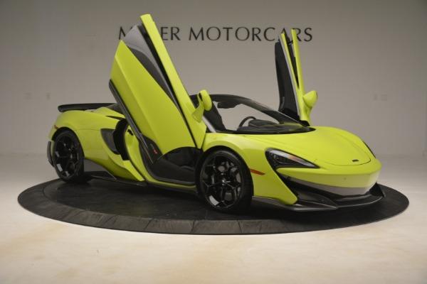 New 2020 McLaren 600LT SPIDER Convertible for sale $281,570 at Alfa Romeo of Westport in Westport CT 06880 25