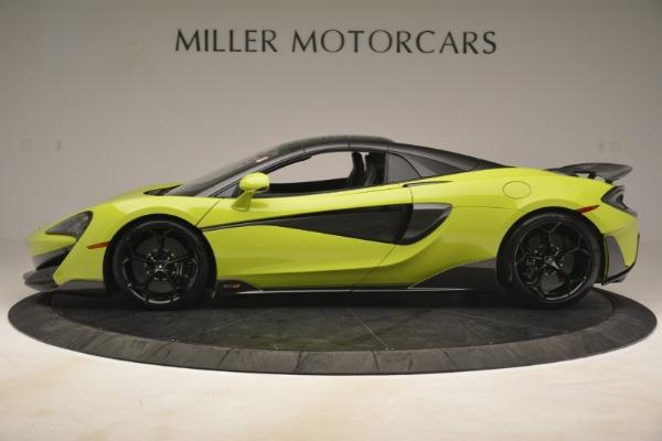 New 2020 McLaren 600LT SPIDER Convertible for sale $281,570 at Alfa Romeo of Westport in Westport CT 06880 3