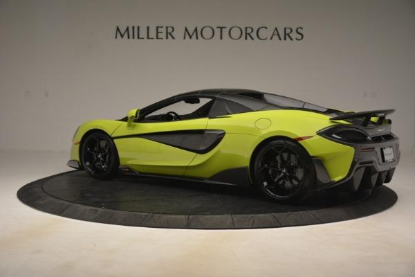 New 2020 McLaren 600LT Spider for sale $281,570 at Alfa Romeo of Westport in Westport CT 06880 4
