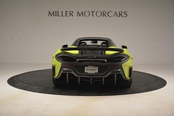 New 2020 McLaren 600LT Spider for sale $281,570 at Alfa Romeo of Westport in Westport CT 06880 5