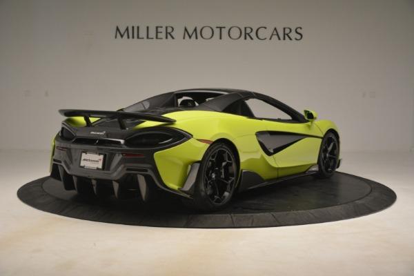 New 2020 McLaren 600LT SPIDER Convertible for sale $281,570 at Alfa Romeo of Westport in Westport CT 06880 6
