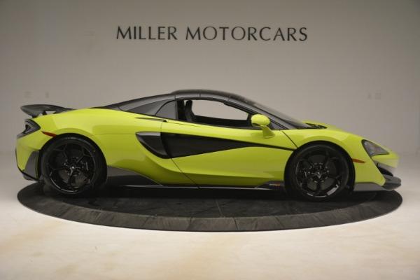 New 2020 McLaren 600LT SPIDER Convertible for sale $281,570 at Alfa Romeo of Westport in Westport CT 06880 7