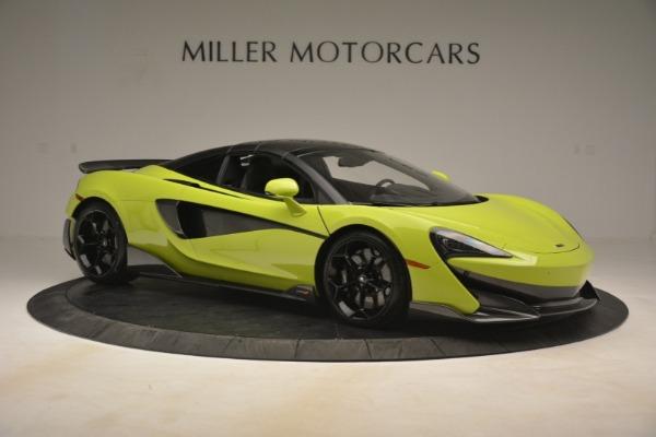 New 2020 McLaren 600LT Spider for sale $281,570 at Alfa Romeo of Westport in Westport CT 06880 8
