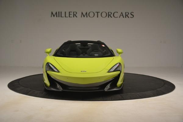 New 2020 McLaren 600LT Spider for sale $281,570 at Alfa Romeo of Westport in Westport CT 06880 9