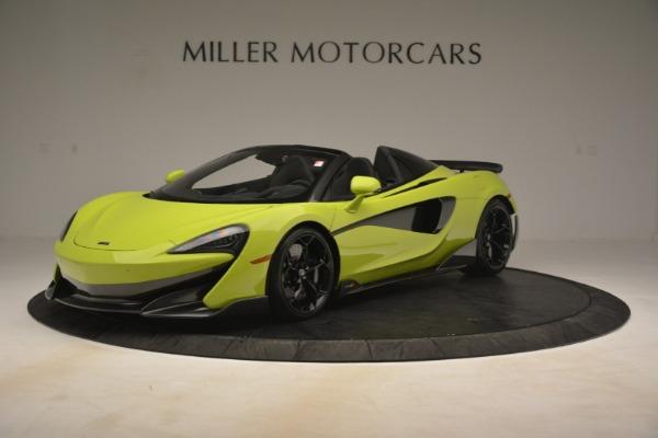 New 2020 McLaren 600LT Spider for sale $281,570 at Alfa Romeo of Westport in Westport CT 06880 1