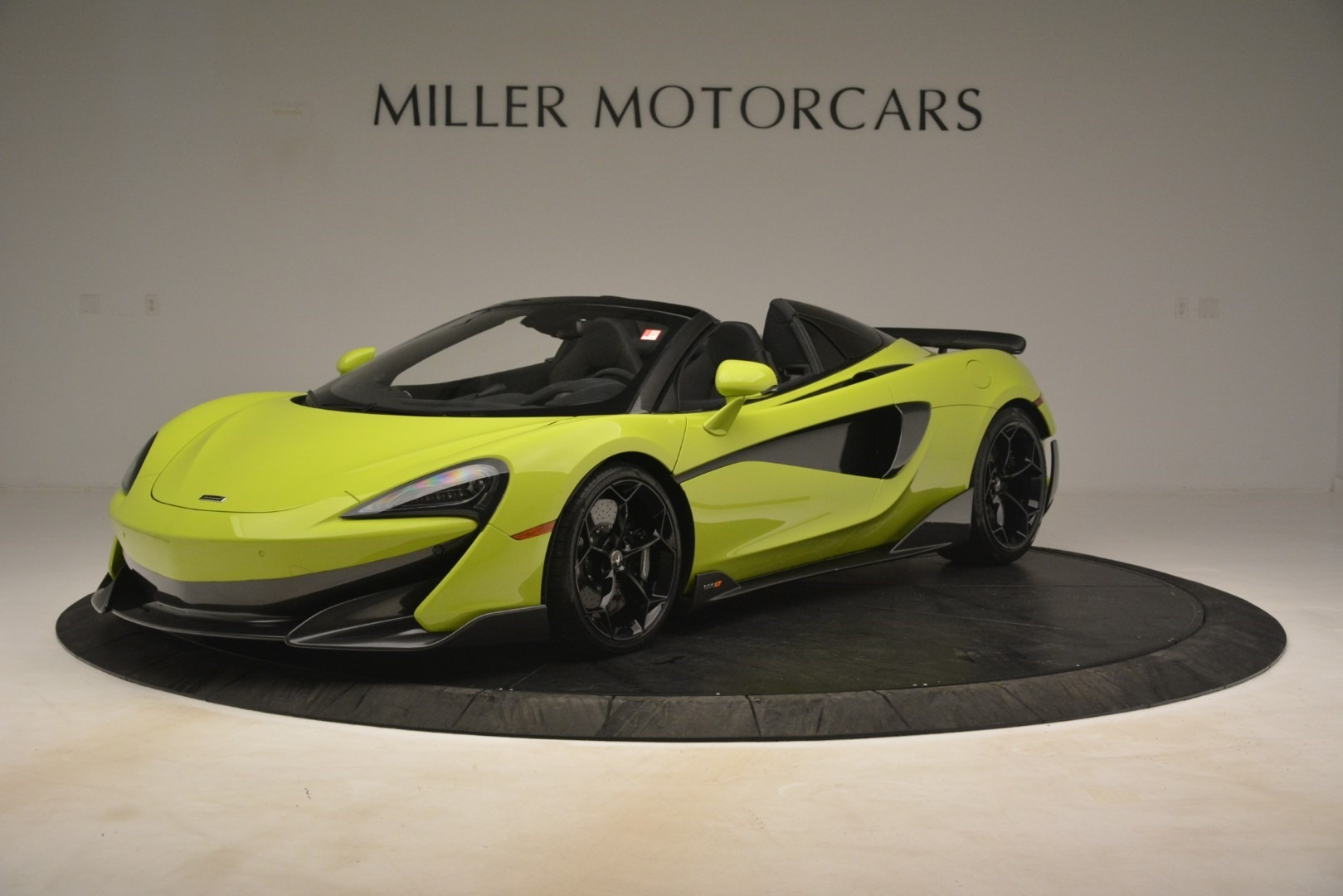 New 2020 McLaren 600LT SPIDER Convertible for sale $281,570 at Alfa Romeo of Westport in Westport CT 06880 1
