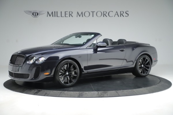 Used 2012 Bentley Continental GT Supersports for sale Sold at Alfa Romeo of Westport in Westport CT 06880 2