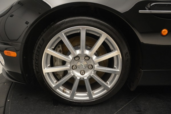 Used 2005 Aston Martin V12 Vanquish S Coupe for sale Sold at Alfa Romeo of Westport in Westport CT 06880 13