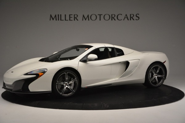 Used 2015 McLaren 650S Convertible for sale Sold at Alfa Romeo of Westport in Westport CT 06880 12