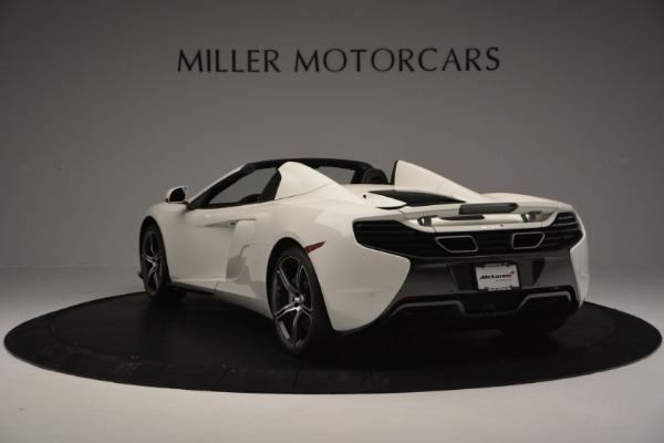 Used 2015 McLaren 650S Convertible for sale Sold at Alfa Romeo of Westport in Westport CT 06880 4