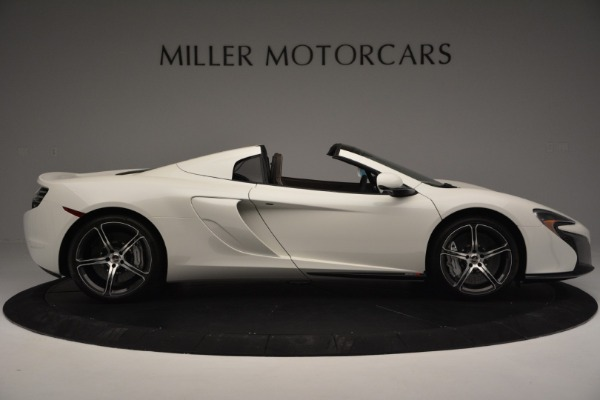 Used 2015 McLaren 650S Convertible for sale Sold at Alfa Romeo of Westport in Westport CT 06880 8