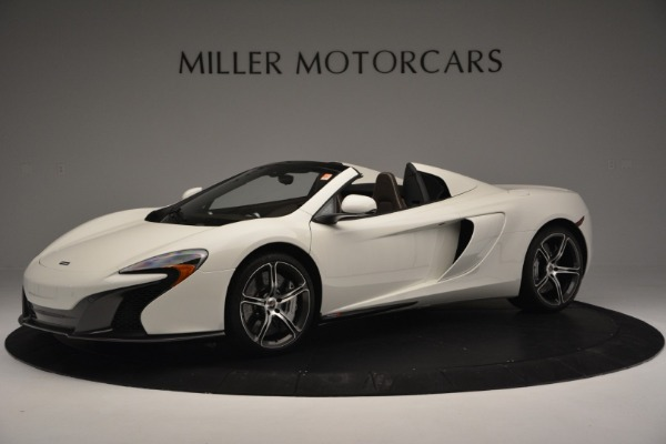 Used 2015 McLaren 650S Convertible for sale Sold at Alfa Romeo of Westport in Westport CT 06880 1
