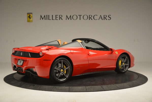 Used 2015 Ferrari 458 Spider for sale Sold at Alfa Romeo of Westport in Westport CT 06880 9