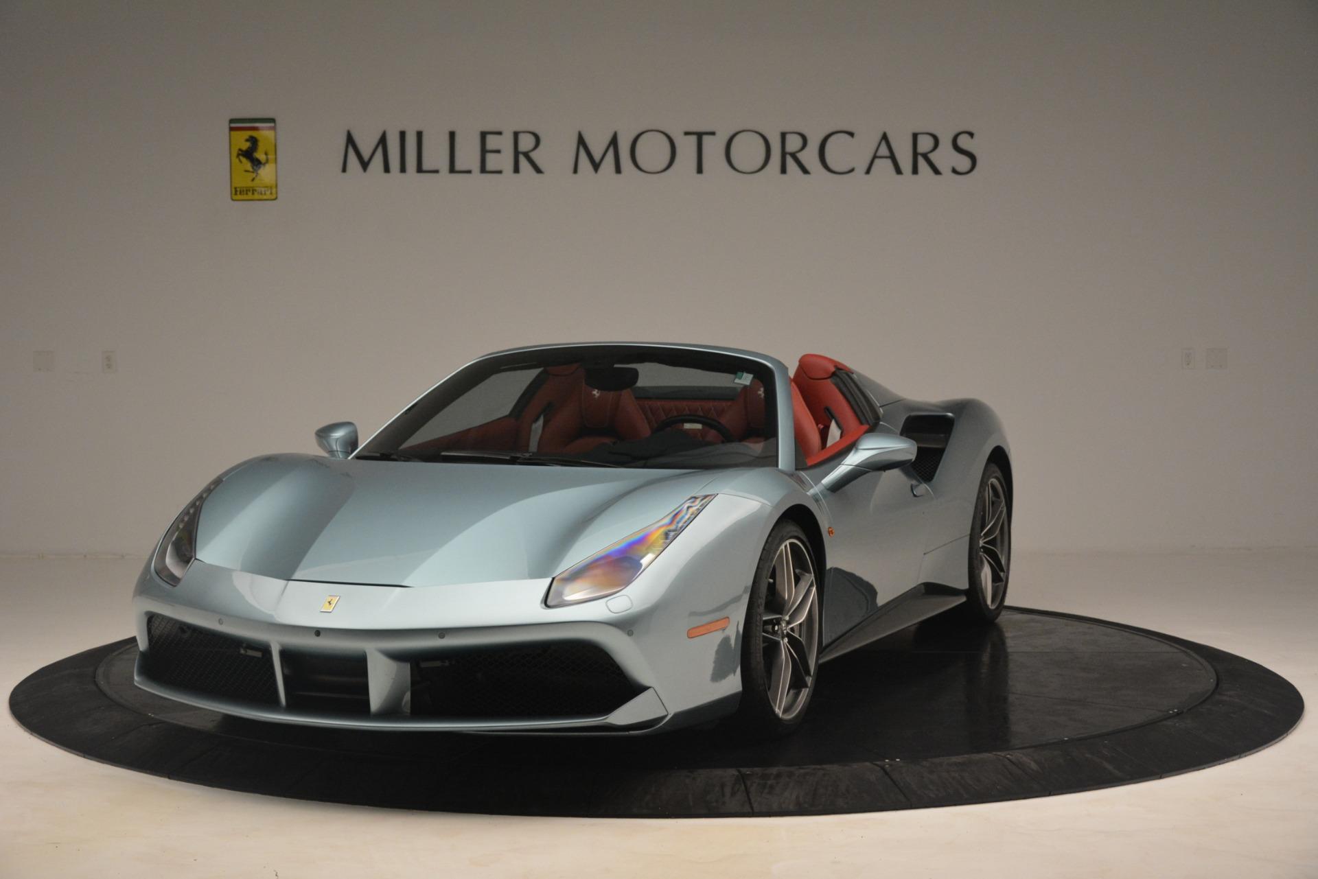 Used 2017 Ferrari 488 Spider for sale Sold at Alfa Romeo of Westport in Westport CT 06880 1