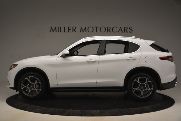 New 2019 Alfa Romeo Stelvio Q4 for sale Sold at Alfa Romeo of Westport in Westport CT 06880 3