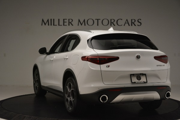 New 2019 Alfa Romeo Stelvio Q4 for sale Sold at Alfa Romeo of Westport in Westport CT 06880 5