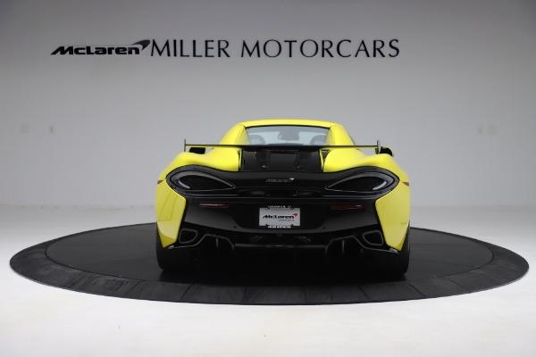 New 2019 McLaren 570S SPIDER Convertible for sale $227,660 at Alfa Romeo of Westport in Westport CT 06880 12