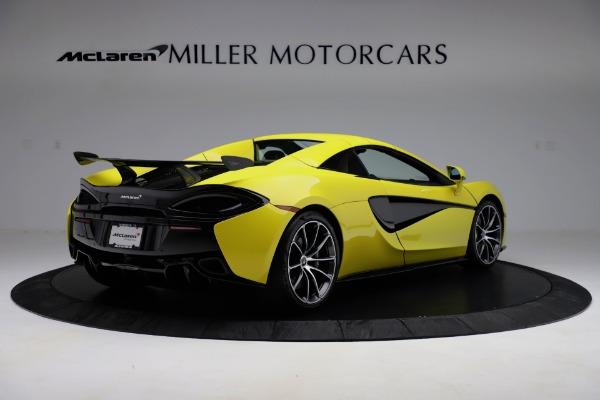 New 2019 McLaren 570S SPIDER Convertible for sale $227,660 at Alfa Romeo of Westport in Westport CT 06880 13