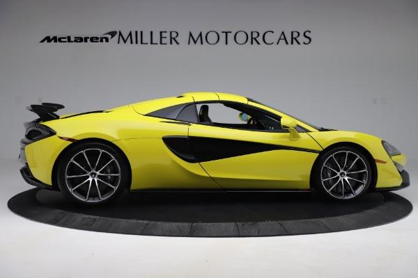 New 2019 McLaren 570S SPIDER Convertible for sale $227,660 at Alfa Romeo of Westport in Westport CT 06880 14