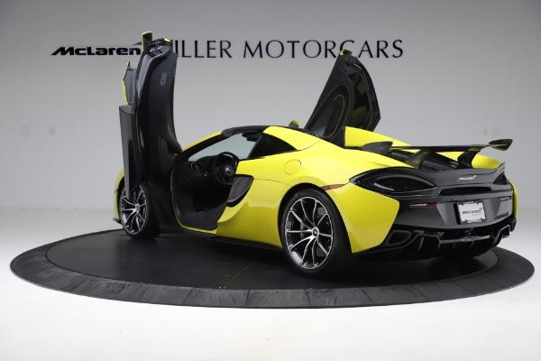 New 2019 McLaren 570S SPIDER Convertible for sale $227,660 at Alfa Romeo of Westport in Westport CT 06880 19