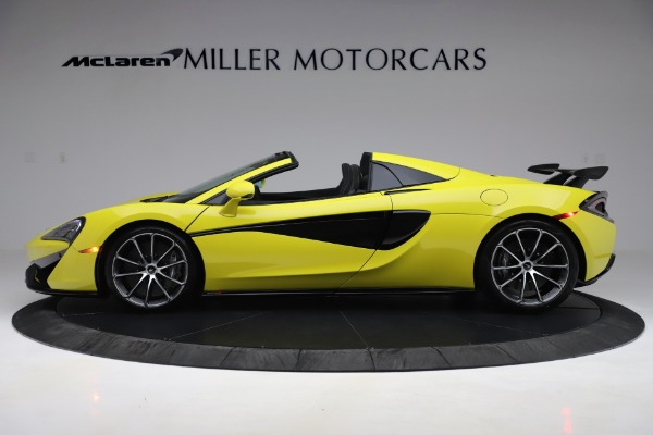 New 2019 McLaren 570S SPIDER Convertible for sale $227,660 at Alfa Romeo of Westport in Westport CT 06880 2