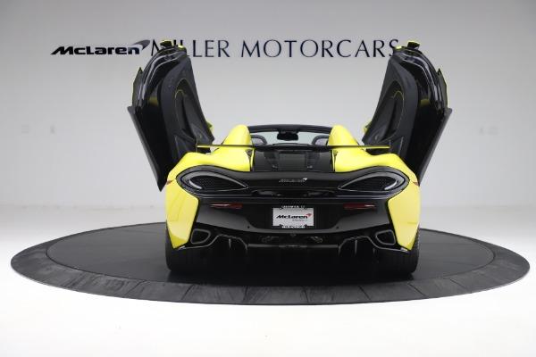 New 2019 McLaren 570S SPIDER Convertible for sale $227,660 at Alfa Romeo of Westport in Westport CT 06880 20