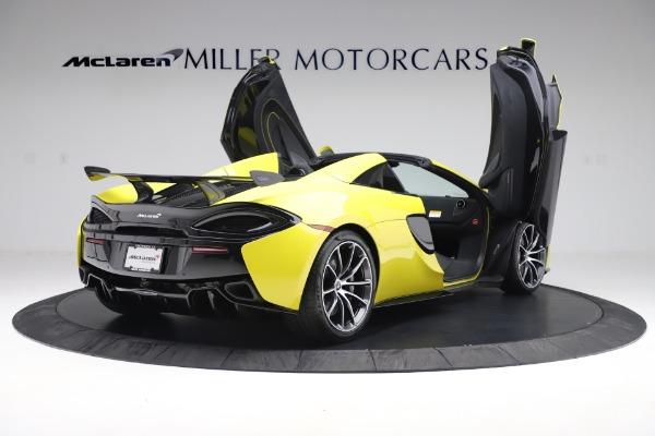 New 2019 McLaren 570S SPIDER Convertible for sale $227,660 at Alfa Romeo of Westport in Westport CT 06880 21