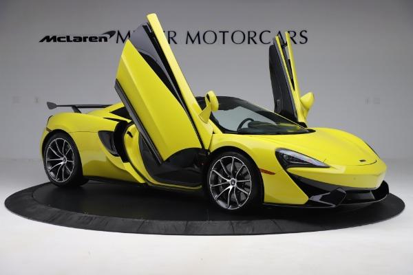 New 2019 McLaren 570S SPIDER Convertible for sale $227,660 at Alfa Romeo of Westport in Westport CT 06880 22