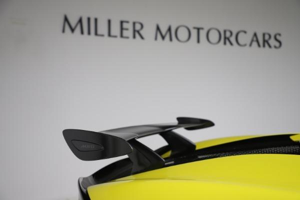 New 2019 McLaren 570S SPIDER Convertible for sale $227,660 at Alfa Romeo of Westport in Westport CT 06880 25
