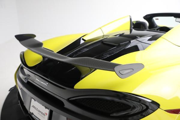 New 2019 McLaren 570S SPIDER Convertible for sale $227,660 at Alfa Romeo of Westport in Westport CT 06880 26