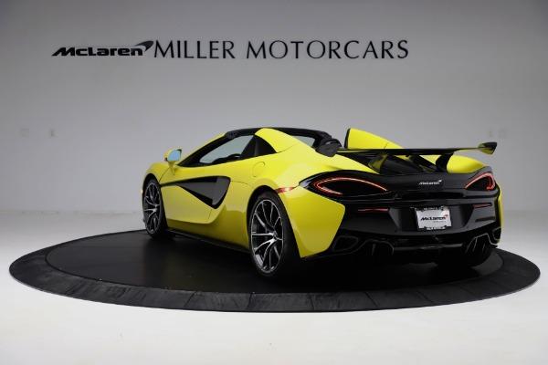 New 2019 McLaren 570S SPIDER Convertible for sale $227,660 at Alfa Romeo of Westport in Westport CT 06880 3