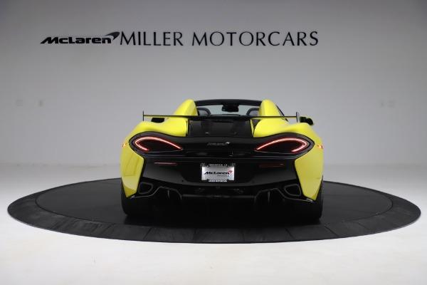 New 2019 McLaren 570S SPIDER Convertible for sale $227,660 at Alfa Romeo of Westport in Westport CT 06880 4