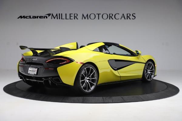 New 2019 McLaren 570S SPIDER Convertible for sale $227,660 at Alfa Romeo of Westport in Westport CT 06880 5