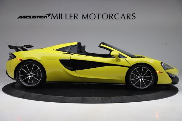 New 2019 McLaren 570S SPIDER Convertible for sale $227,660 at Alfa Romeo of Westport in Westport CT 06880 6