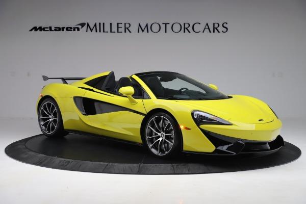 New 2019 McLaren 570S SPIDER Convertible for sale $227,660 at Alfa Romeo of Westport in Westport CT 06880 7