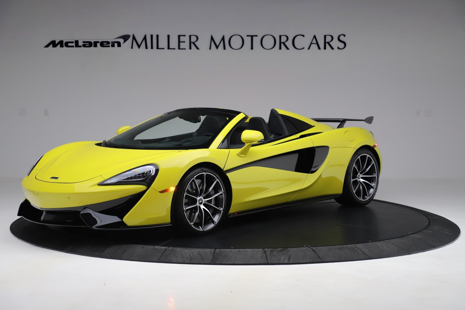 New 2019 McLaren 570S SPIDER Convertible for sale $227,660 at Alfa Romeo of Westport in Westport CT 06880 1