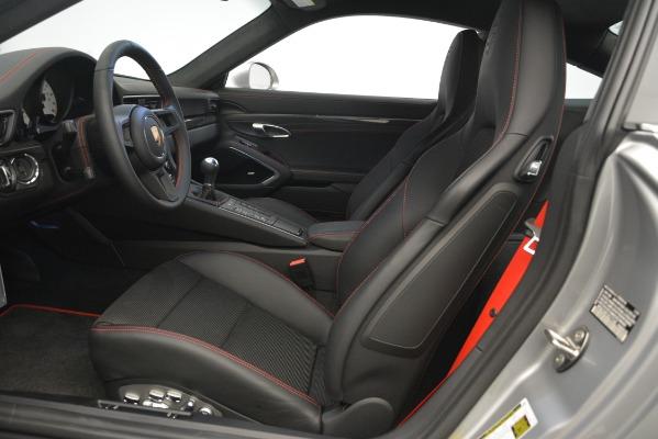 Used 2018 Porsche 911 GT3 for sale Sold at Alfa Romeo of Westport in Westport CT 06880 14