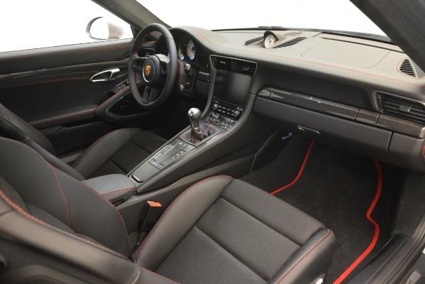 Used 2018 Porsche 911 GT3 for sale Sold at Alfa Romeo of Westport in Westport CT 06880 19