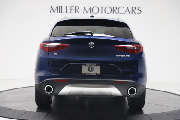 New 2019 Alfa Romeo Stelvio Ti Lusso Q4 for sale Sold at Alfa Romeo of Westport in Westport CT 06880 6