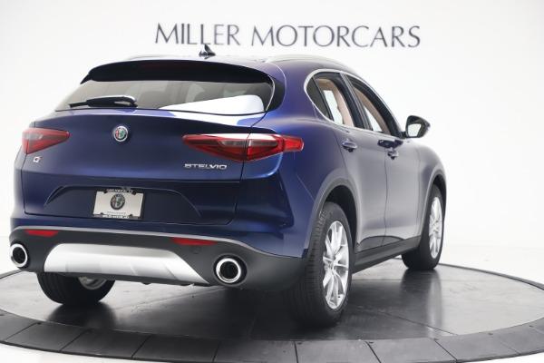New 2019 Alfa Romeo Stelvio Ti Lusso Q4 for sale Sold at Alfa Romeo of Westport in Westport CT 06880 7