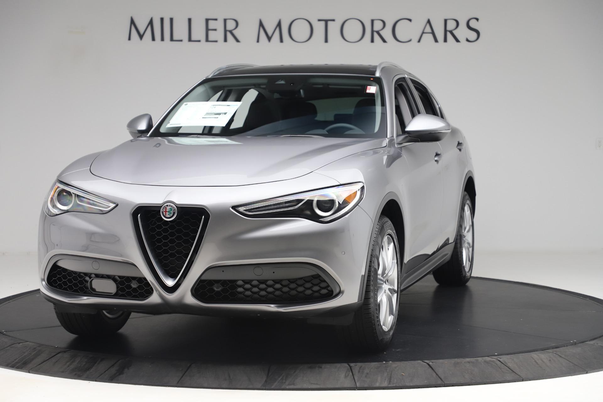 New 2019 Alfa Romeo Stelvio Ti Lusso Q4 for sale Sold at Alfa Romeo of Westport in Westport CT 06880 1