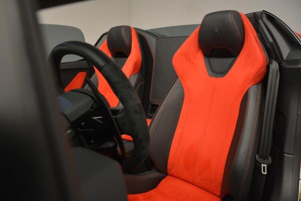 Used 2017 Lamborghini Huracan LP 610-4 Spyder for sale Sold at Alfa Romeo of Westport in Westport CT 06880 18
