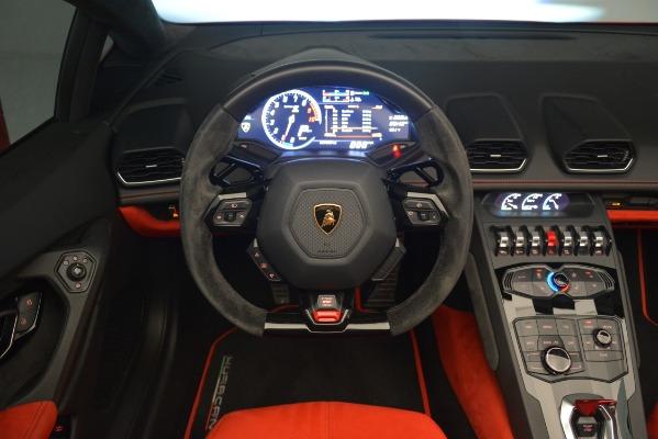 Used 2017 Lamborghini Huracan LP 610-4 Spyder for sale Sold at Alfa Romeo of Westport in Westport CT 06880 20