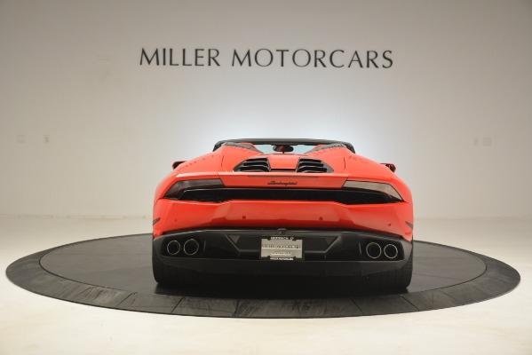Used 2017 Lamborghini Huracan LP 610-4 Spyder for sale Sold at Alfa Romeo of Westport in Westport CT 06880 4
