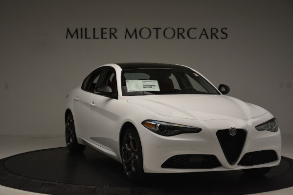 New 2019 Alfa Romeo Giulia Q4 for sale Sold at Alfa Romeo of Westport in Westport CT 06880 11