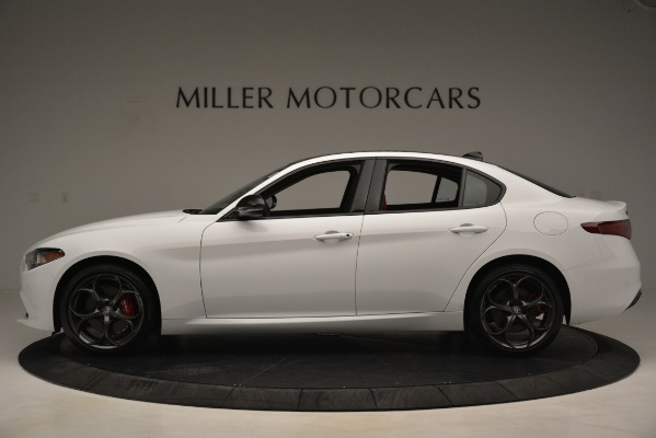 New 2019 Alfa Romeo Giulia Q4 for sale Sold at Alfa Romeo of Westport in Westport CT 06880 3