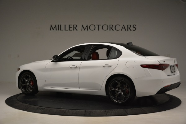 New 2019 Alfa Romeo Giulia Q4 for sale Sold at Alfa Romeo of Westport in Westport CT 06880 4